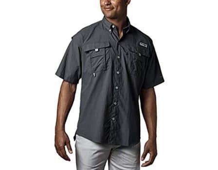 Columbia Mens Short Sleeve Shirts