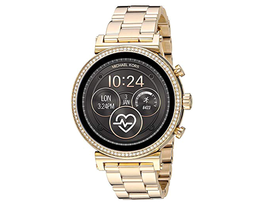 Michael Kors Watch for Women,Access Sofie Heart Rate Smartwatch