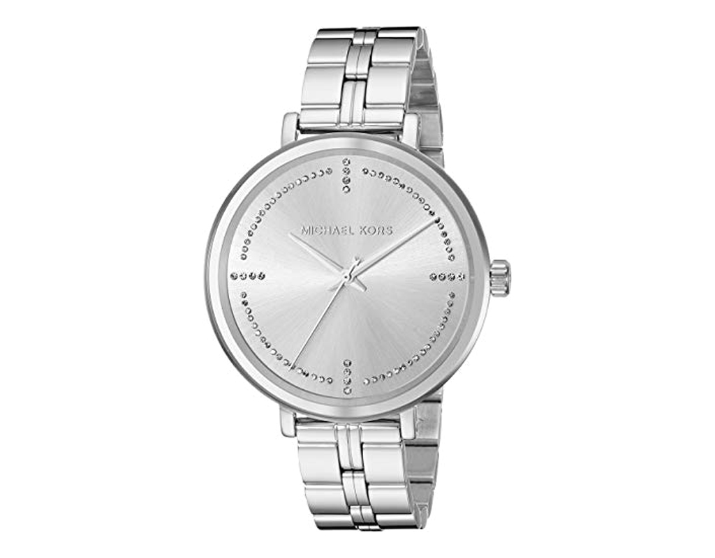Michael Kors Watch for Women, Bridgette Stainless Steel Watch;