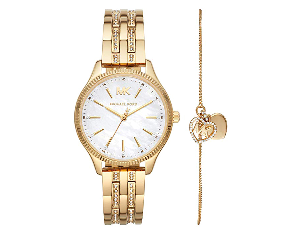 Michael Kors Watch for Women, Ladies Lexington Wrist Watch;