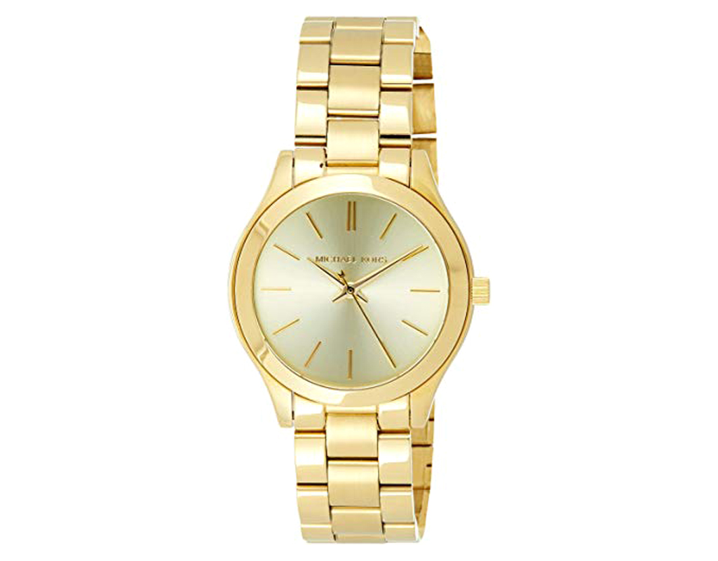 Michael Kors Watch for Women,Mini Slim Runway Women's Wrist Watch