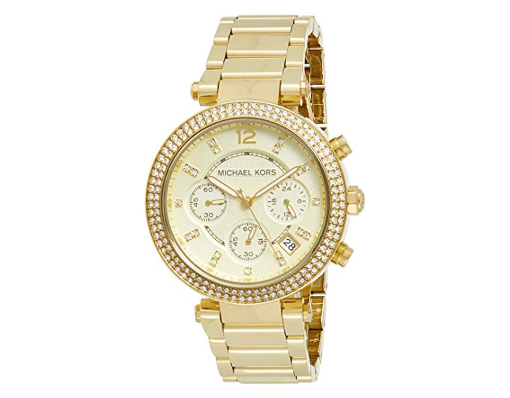 Michael Kors Watch for Women -Parker Gold-Tone Watch