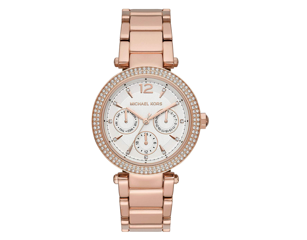 Parker Rose Gold-Tone Stainless Steel Watch MK5781