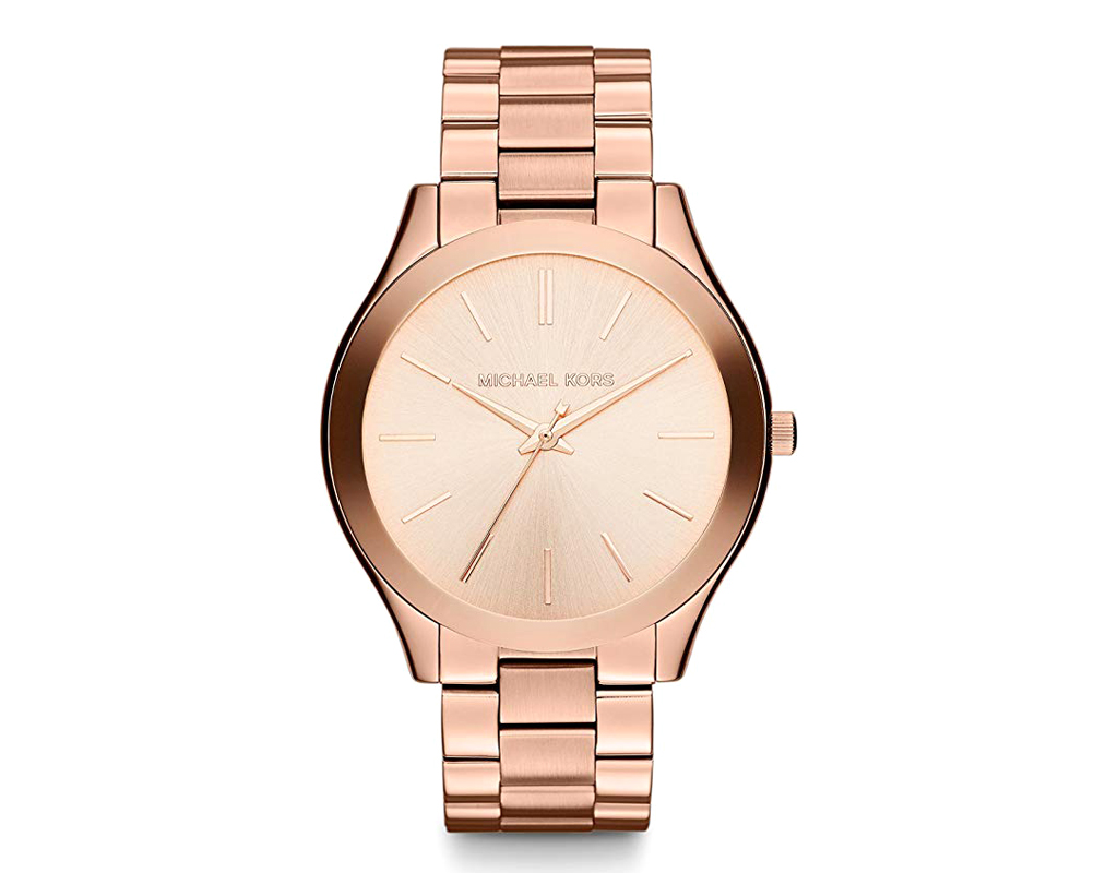 Slim Runway Women's Stainless Steel Watch 42MM