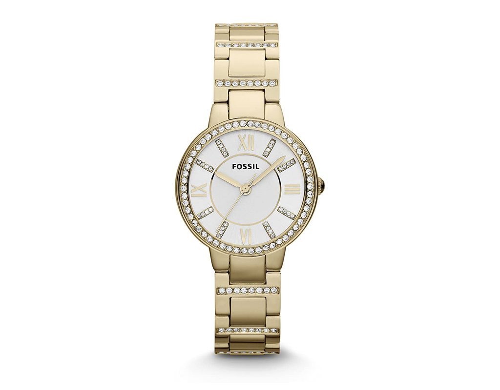 Fossil ES3283 Virginia Gold Tone Stainless
