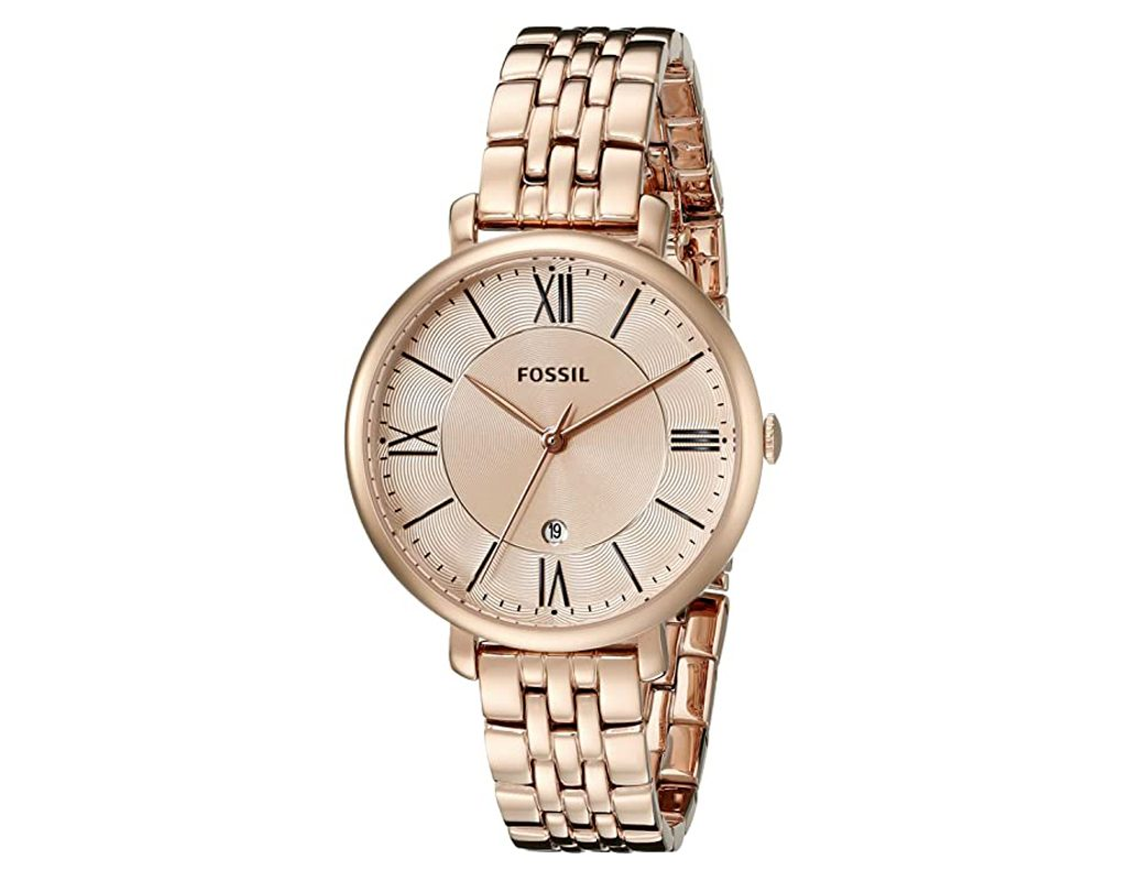 Fossil ES3434 Jacqueline Gold Tone Stainless