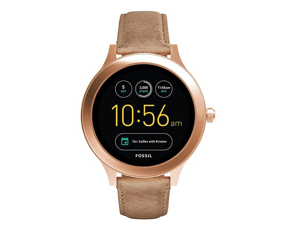 Fossil Venture gen 3 Stainless Touchscreen Leather