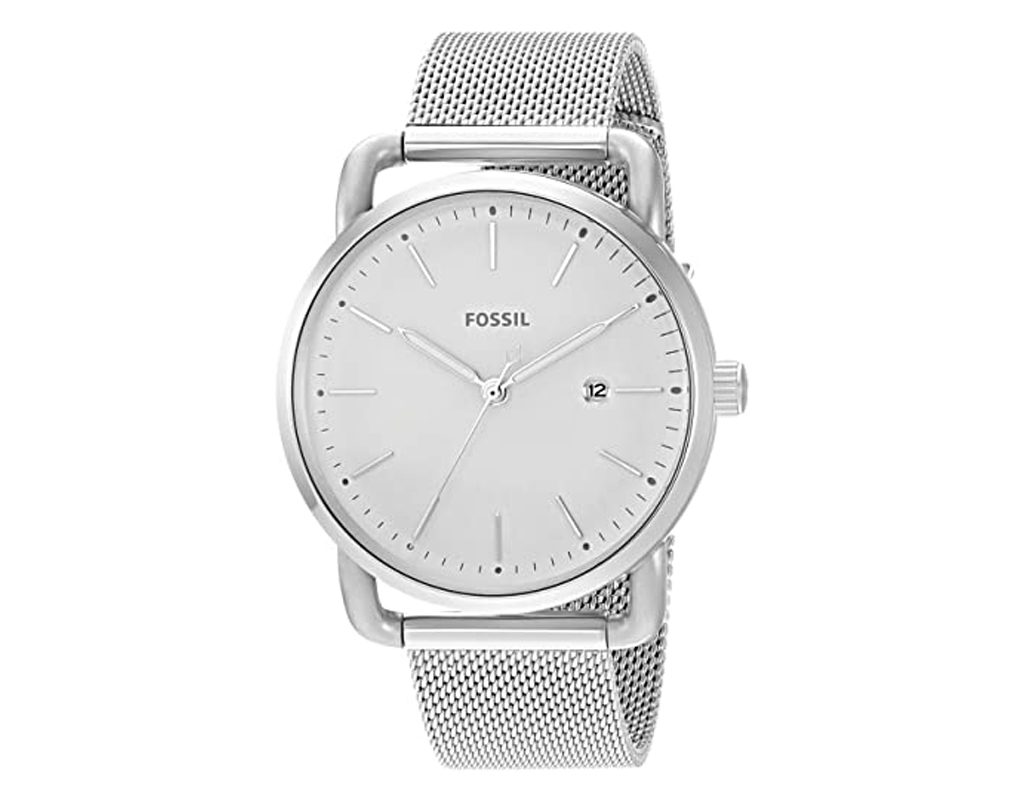 Fossil Women's Commuter Stainless Casual