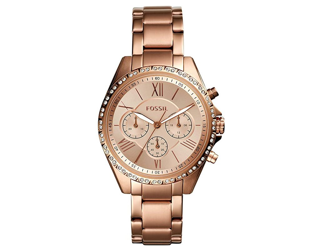 Fossil Women's Modern Courier Stainless