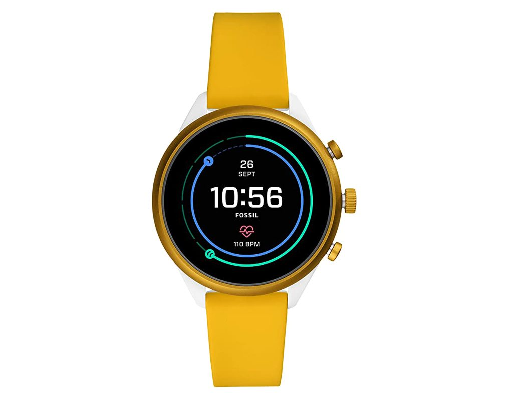 Fossil Women's Silicone Touchscreen