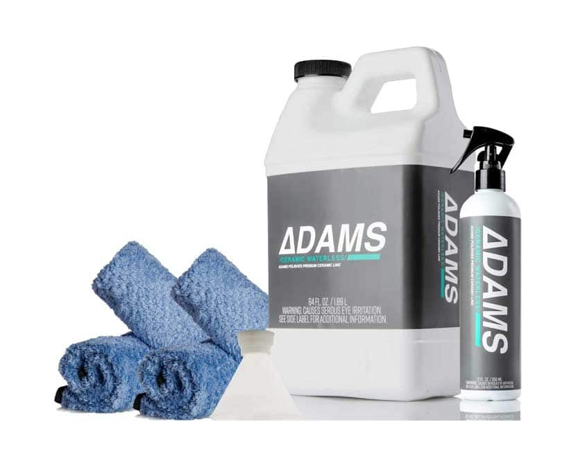 Adam's Ceramic Waterless Wash Kit