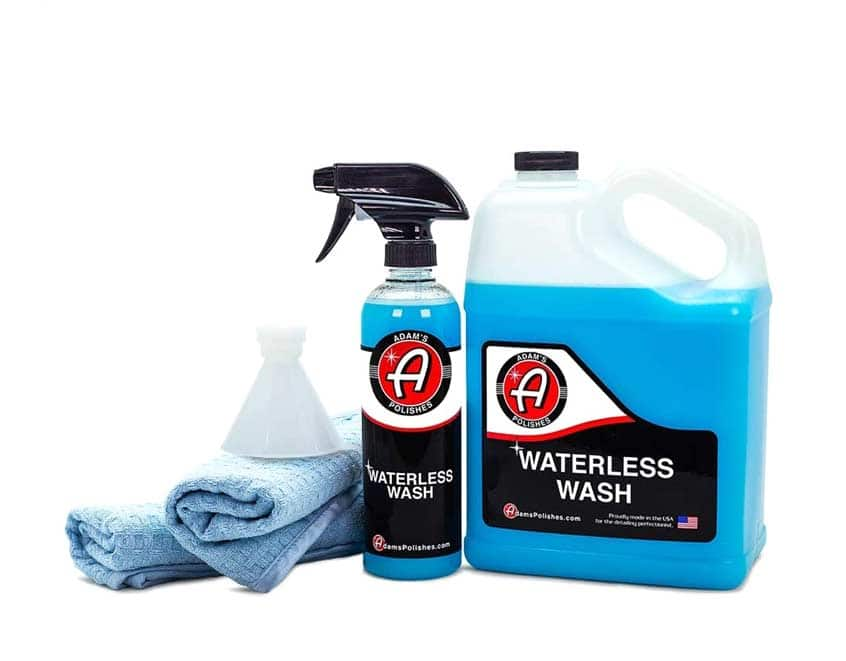 Adam's Waterless Car Wash Kit