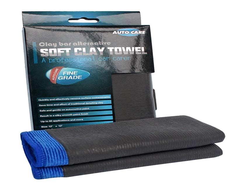 Clay Bar Towel, Auto Care Fine Grade Microfiber