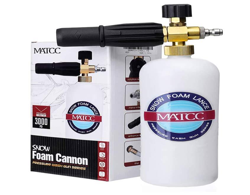 MATCC Foam Cannon II Foam Nozzle Pressure