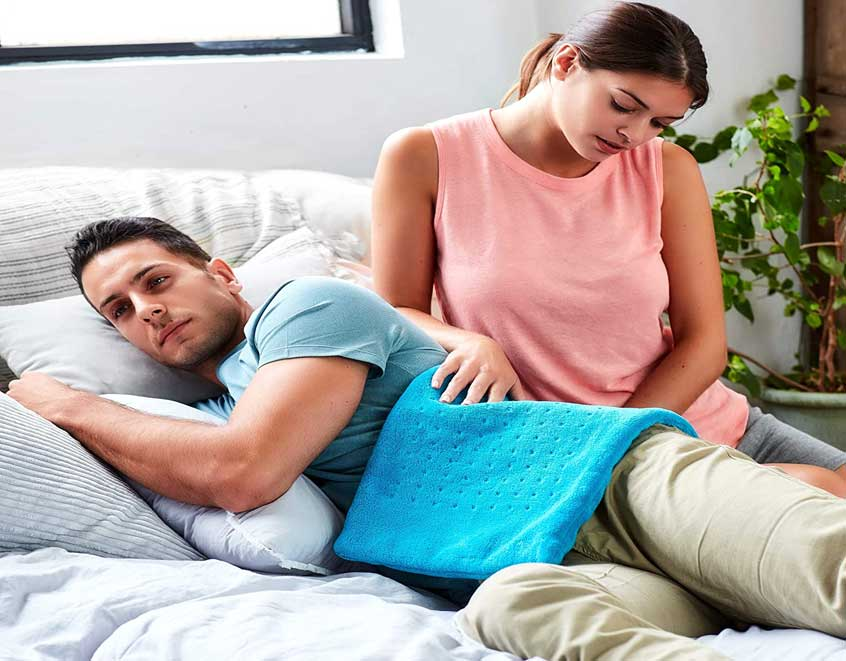 MIGHTY BLISS™ Large Electric Heating Pad