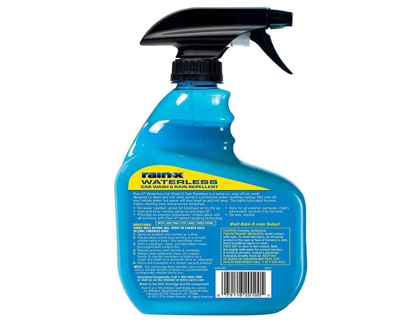 Rain-X 620100 Waterless Car Wash & Rain Repellent