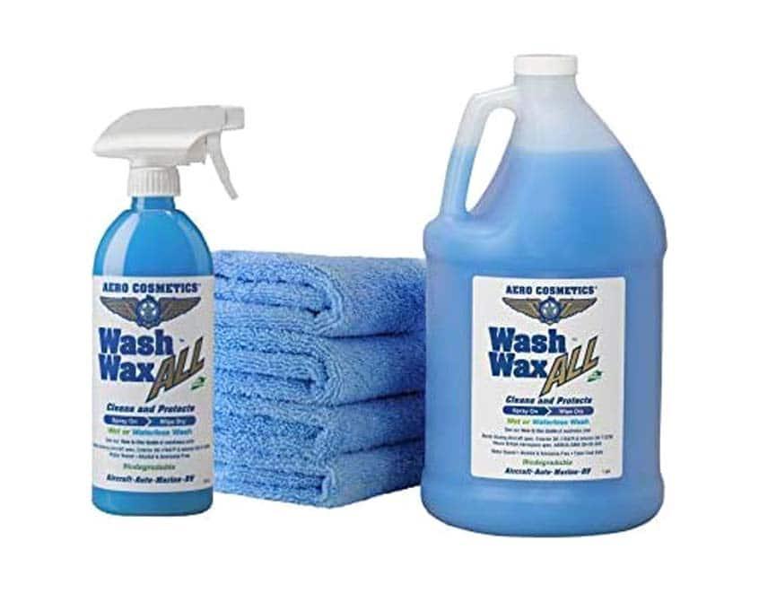 Waterless Car Wash Wax Kit 144 Ounces