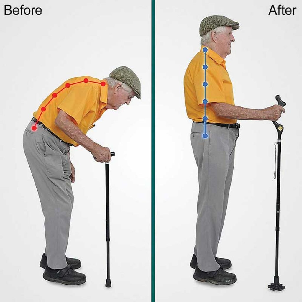 Best Walking Cane for Stability The Original Campbell Posture Cane