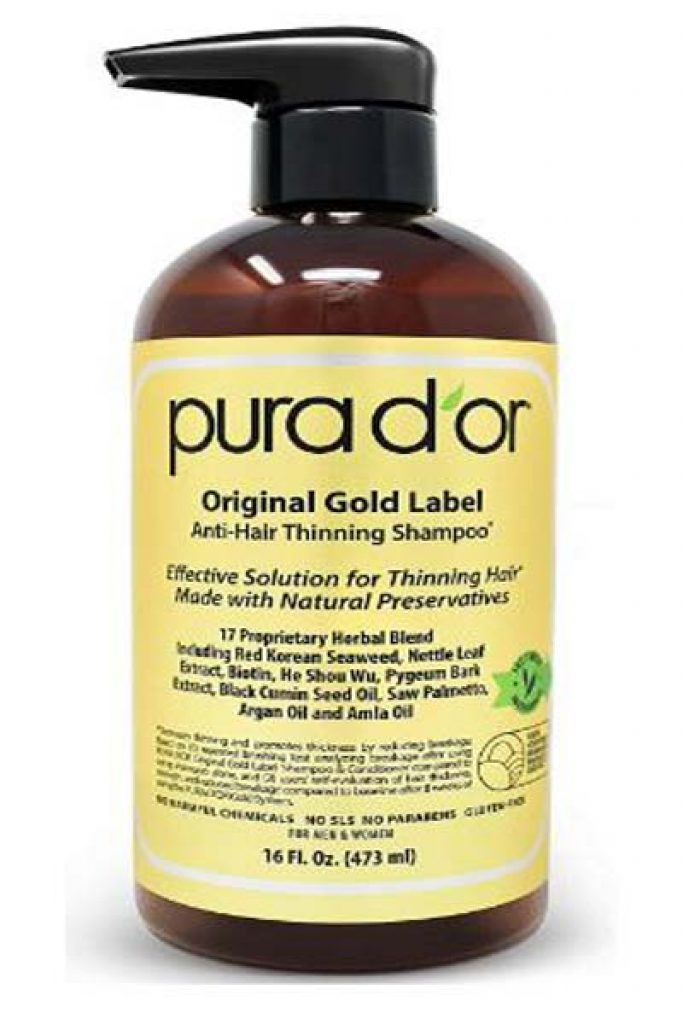 Pura D'Or Original Gold Label Anti-Thinning Shampoo