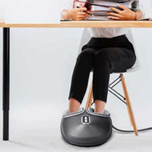 Nekteck Shiatsu Foot Massager Machine with Soothing Heat