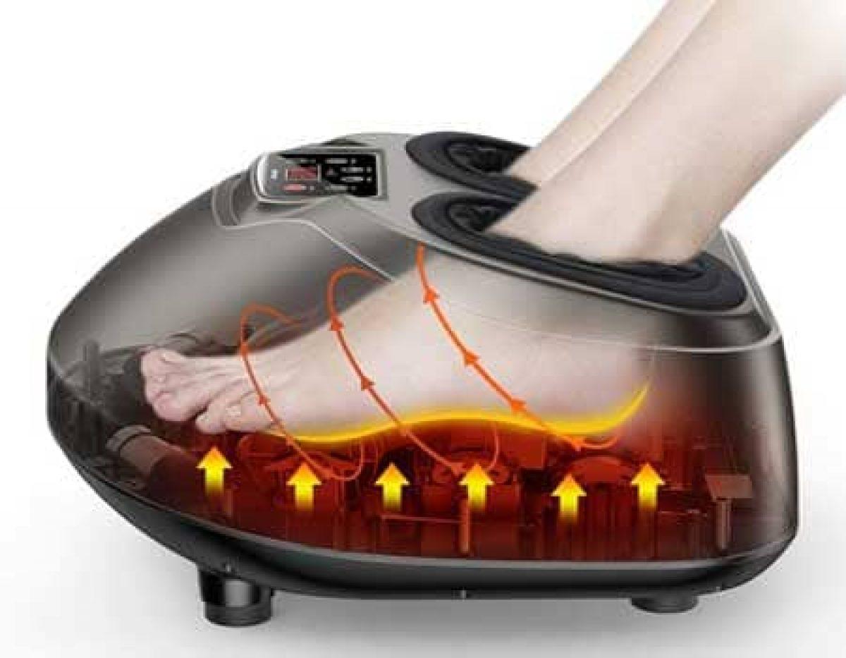 Best Shiatsu Foot Massager Machine with Heat