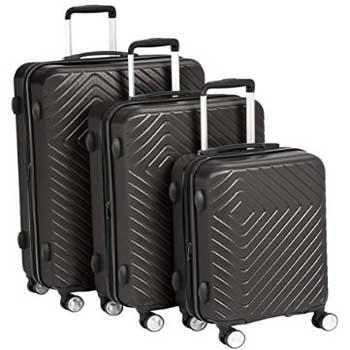 Amazon Basics 3 Piece Spinner Expandable Luggage Sets