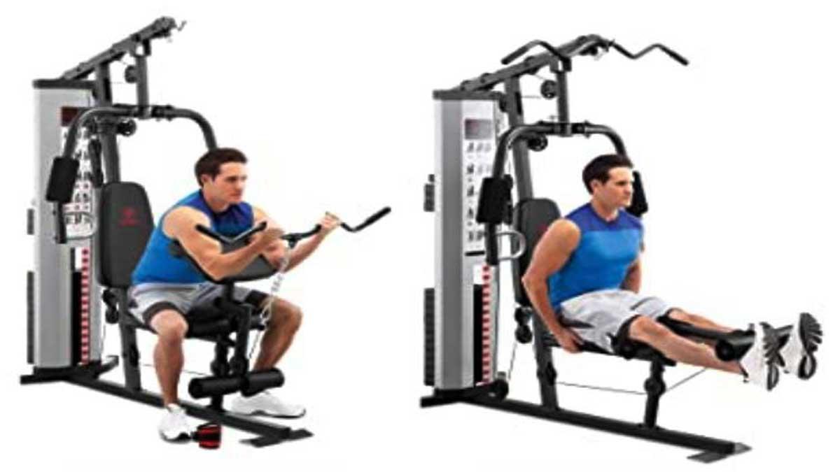 Home gym strength system