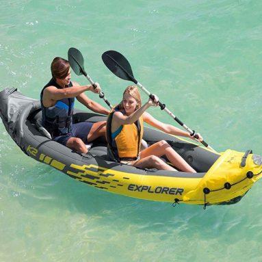 2-Person Intex Explorer k2 Kayak Review