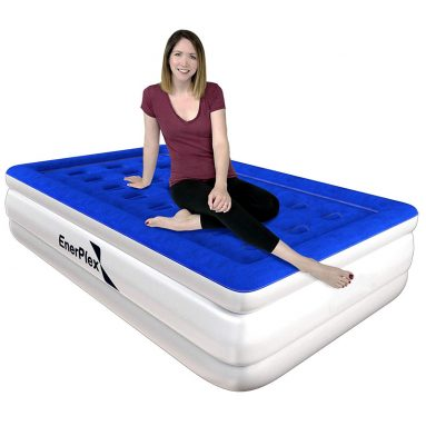 EnerPlex High Speed Best Air Mattress for Camping