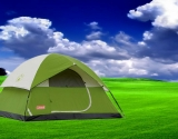 Coleman Sundome 4 Person Tent for Family Camping