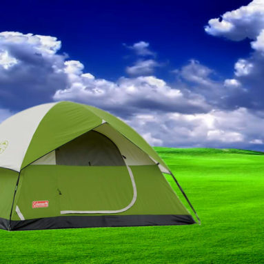Coleman Sundome 4-Person Tent for Family Camping