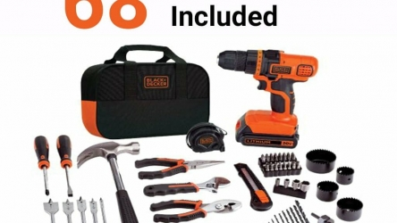 Home Depot Black and Decker Drill