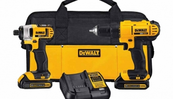 Dewalt Impact Driver and Drill