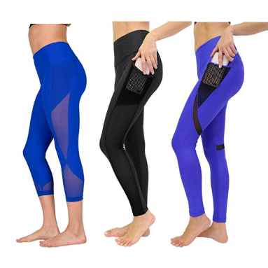Women's High Waist Athletic Leggings with Smartphone Pocket Review