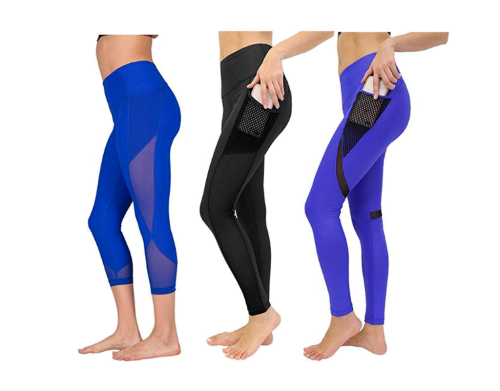 ce4e14b9f0a Women s High Waist Athletic Leggings with Smartphone Pocket Review ...