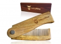 Wooden Comb for Beard by Striking Viking