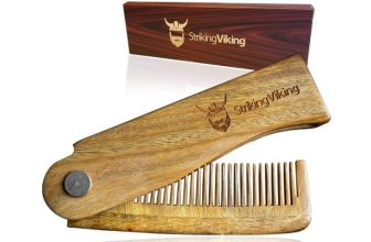 Top 3 the Best Wooden Comb for Beard by Striking Viking